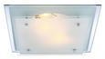 Deckenleuchte Adam, max. 2x60 Watt - KONVENTIONELL, Glas/Metall (33.5/33.5/7.5cm) - Mömax modern living
