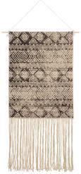 Stenska Dekoracija Mailo - naravna/črna, Konvencionalno, tekstil (50/70cm)