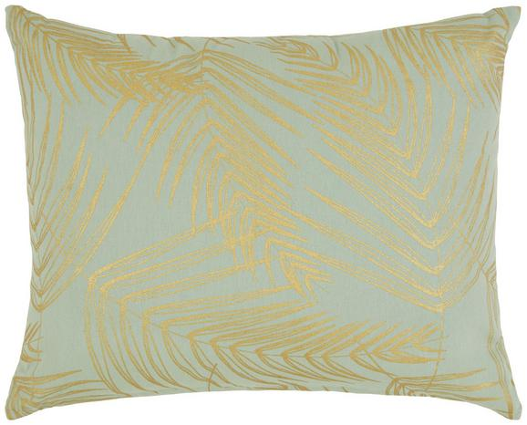 Zierkissen Laguna Hellgrün/gold 40x50cm - Goldfarben/Hellgrün, Textil (40/50cm) - Mömax modern living