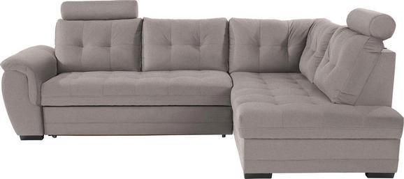 Sedežna Garnitura Falco - temno siva/siva, Konvencionalno, kovina/umetna masa (251/183cm) - Mömax modern living