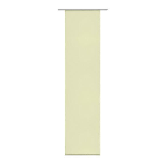 Draperie panou Flipp vual - Verde, Material textil (60/245cm) - Based