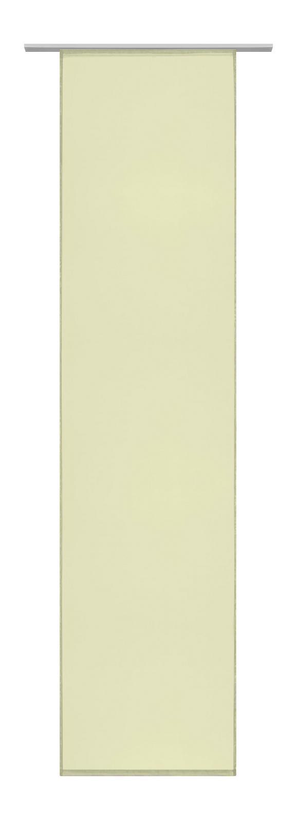 FLÄCHENVORHANG Flipp Grün 60x245cm - Grün, Textil (60/245cm) - Based