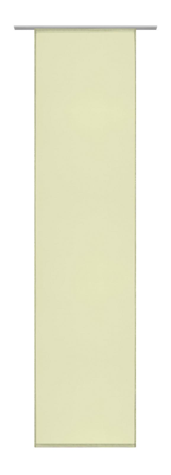 Flächenvorhang Flipp in Grün, ca. 60x245cm - Grün, Textil (60/245cm) - Based
