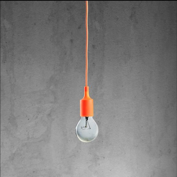 Hängeleuchte abby - Orange, MODERN, Kunststoff (9/92cm) - Mömax modern living
