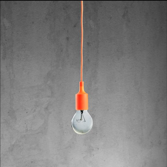 Pendelleuchte Abby - Orange, MODERN, Kunststoff (9/92cm) - Mömax modern living