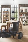 Stol Industry - naravna, Trendi, les (45/100/52cm) - Zandiara