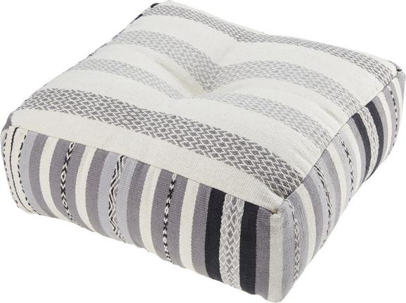 Pouf India ca.60x60cm in Multicolor - Multicolor, MODERN, Textil (60/60/20cm) - Mömax modern living
