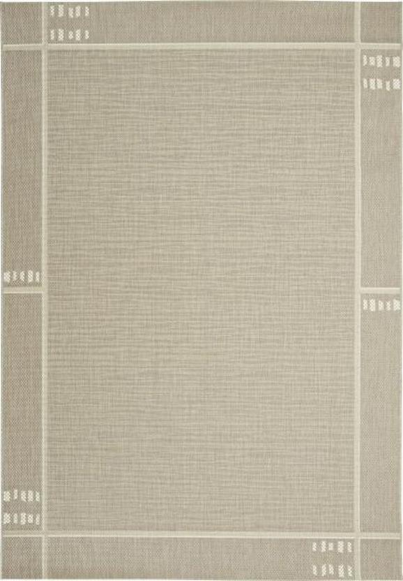 Flachwebeteppich Emil in Taupe, ca. 200x250cm - Taupe, KONVENTIONELL, Textil (200/250cm) - MÖMAX modern living
