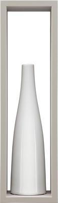 Stenski Regal Regolo -sb- - rjava, Moderno, valoviti karton (60/17/15,5cm)