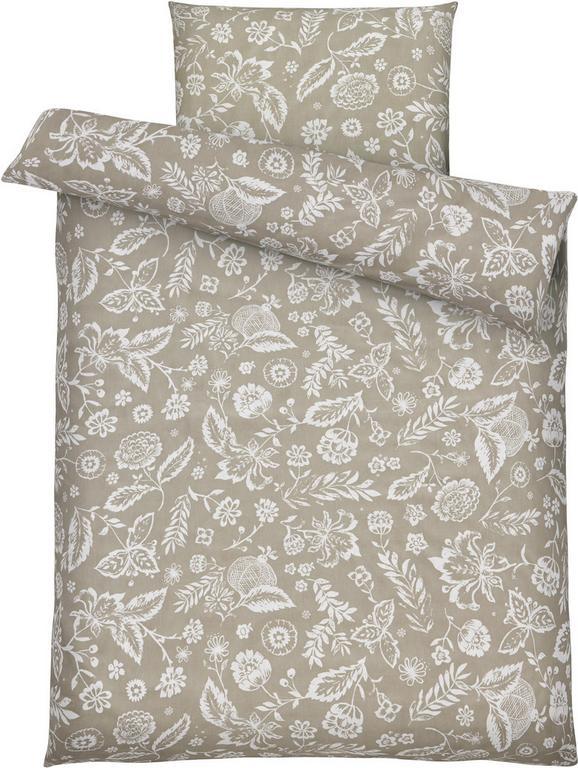Bettwäsche Florentine, ca. 135x200cm - Grau, ROMANTIK / LANDHAUS, Textil (135/200cm) - MÖMAX modern living