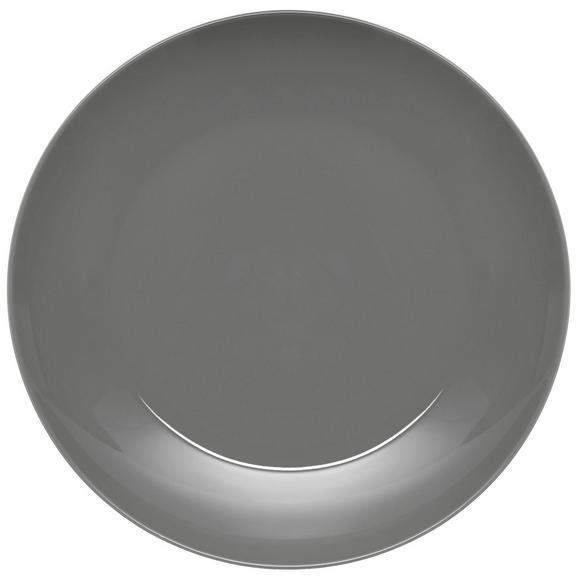 Lapostányér Sandy - szürke, konvencionális, kerámia (26,8/2,42cm) - MÖMAX modern living