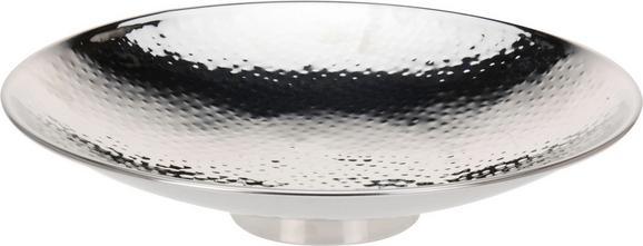 Dekoschale Emma in Silber aus Edelstahl - Silberfarben, LIFESTYLE, Metall (36/11,5cm) - Mömax modern living