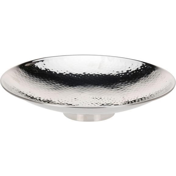 Okrasna Skleda Emma - srebrna, Trendi, kovina (36/11,5cm) - Mömax modern living