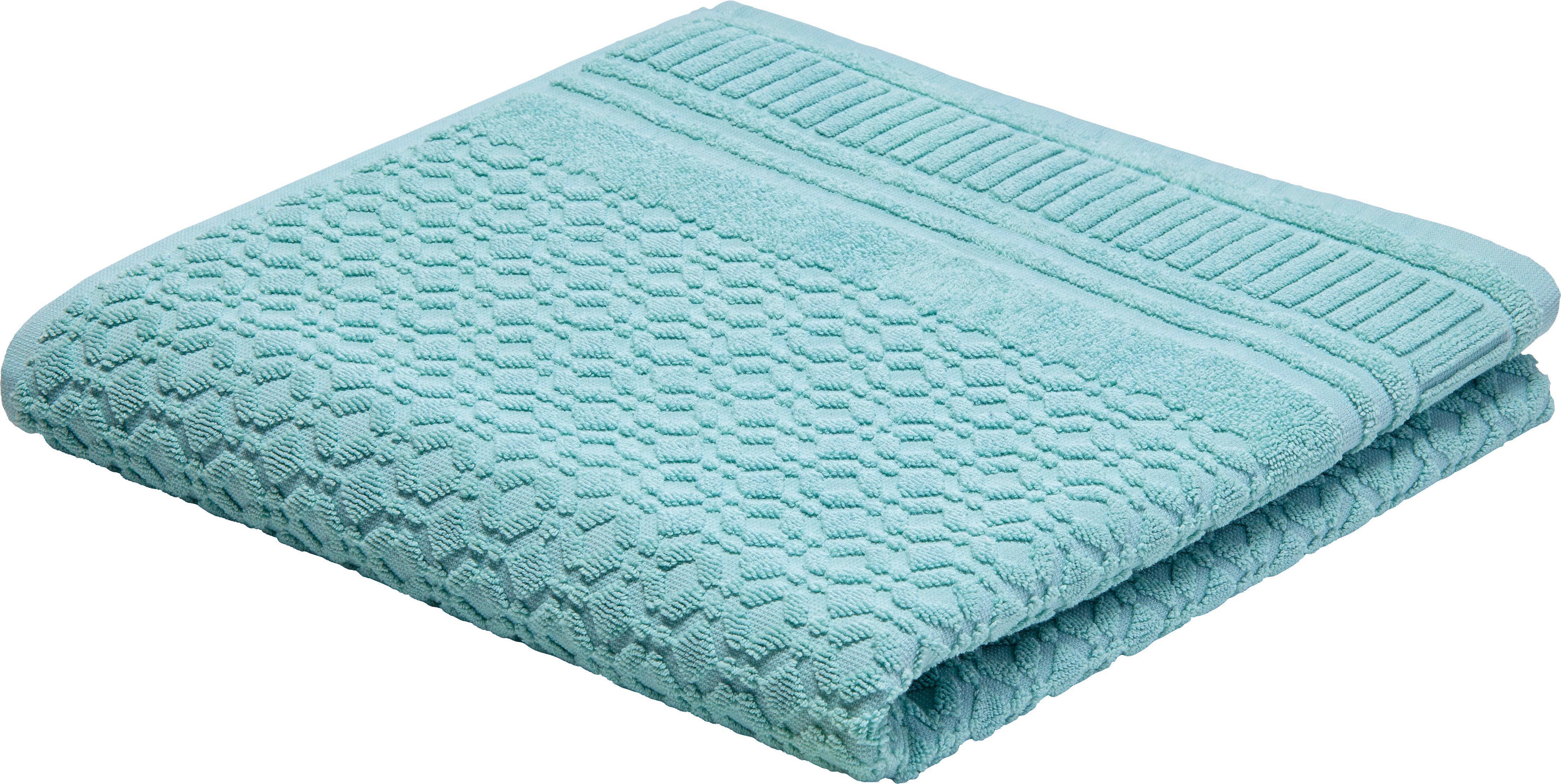 Fürdőlepedő Carina - zöld, romantikus/Landhaus, textil (70/140cm) - MÖMAX modern living