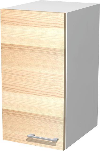 Kuhinjska Zgornja Omarica Venezia Akazia - bela/barve akacije, Moderno, leseni material (30/54/32cm)