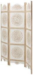 Paravent Braun/Weiß - Braun/Weiß, LIFESTYLE, Holz/Holzwerkstoff (150/180/2cm) - Modern Living