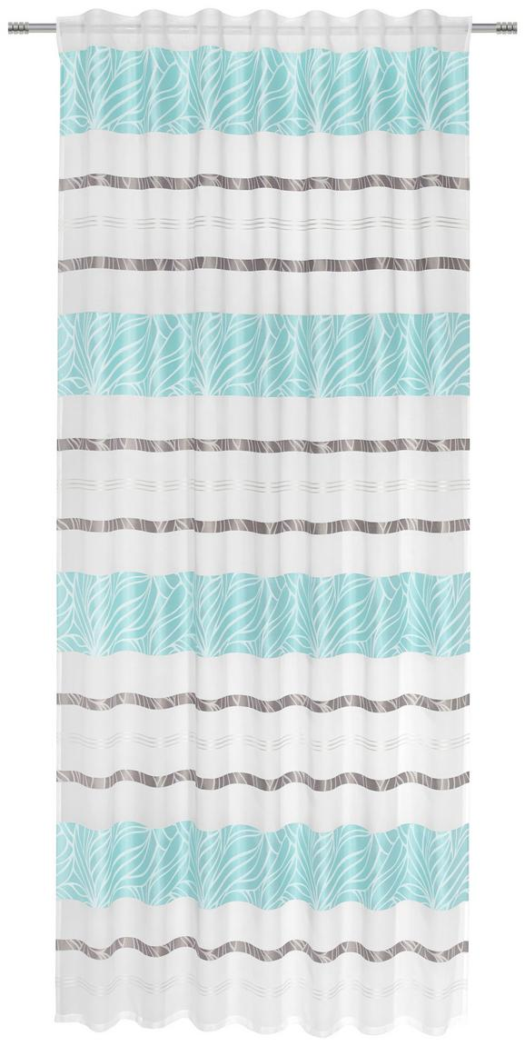 Fertigvorhang Anita, ca. 140x245cm - Blau, KONVENTIONELL, Textil (140/245cm) - Mömax modern living