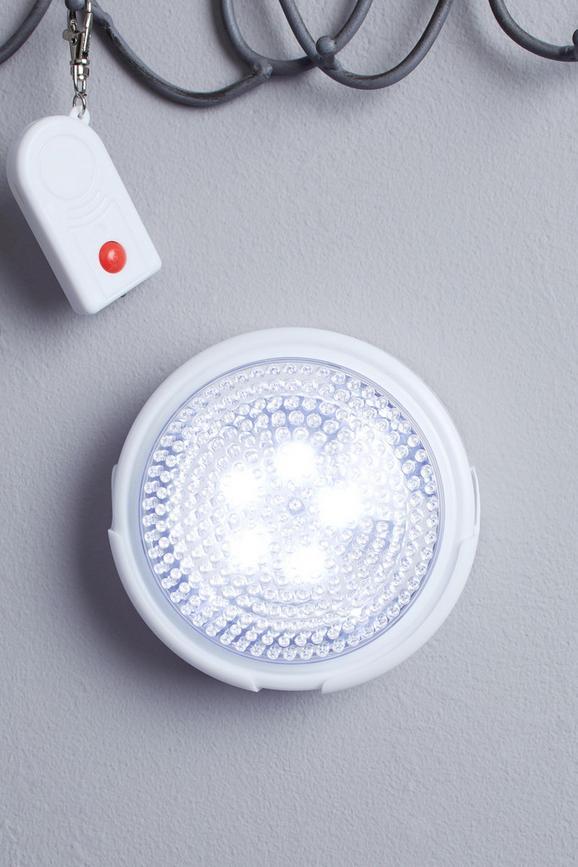 LED-Dekoleuchte Heli, max. 0,06 Watt - Weiß, Kunststoff/Metall (12,5cm) - Mömax modern living