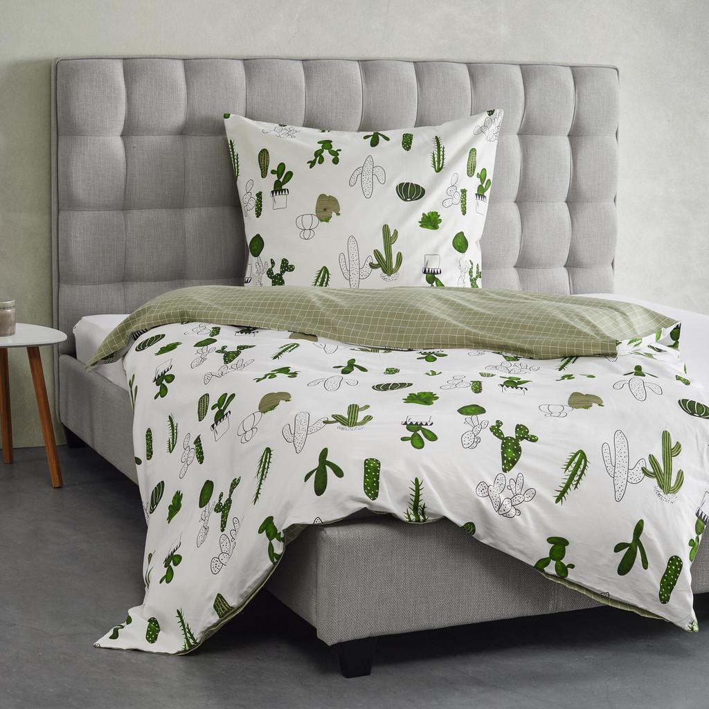 Bettwäsche Cactus Wende ca. 135c200 cm