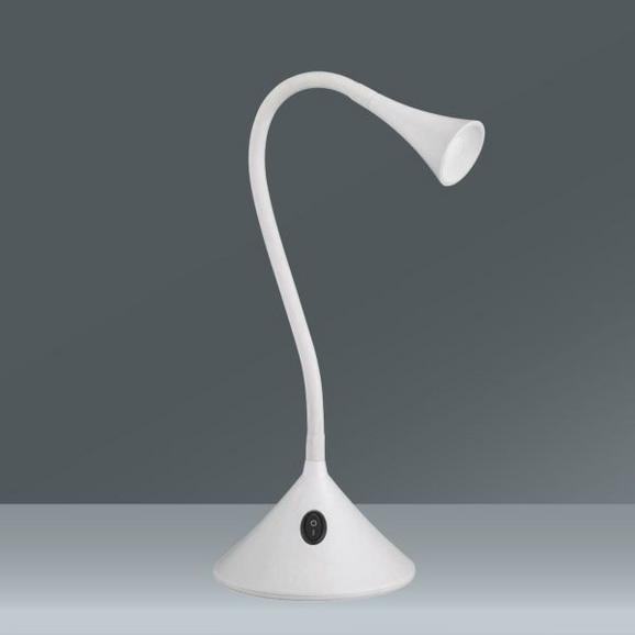 Asztali Lámpa Viper - fehér, konvencionális, műanyag (13,5/31,8cm)