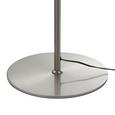 Stehleuchte Fokus 2-flammig - Nickelfarben, MODERN, Metall (32/23/140cm) - Mömax modern living