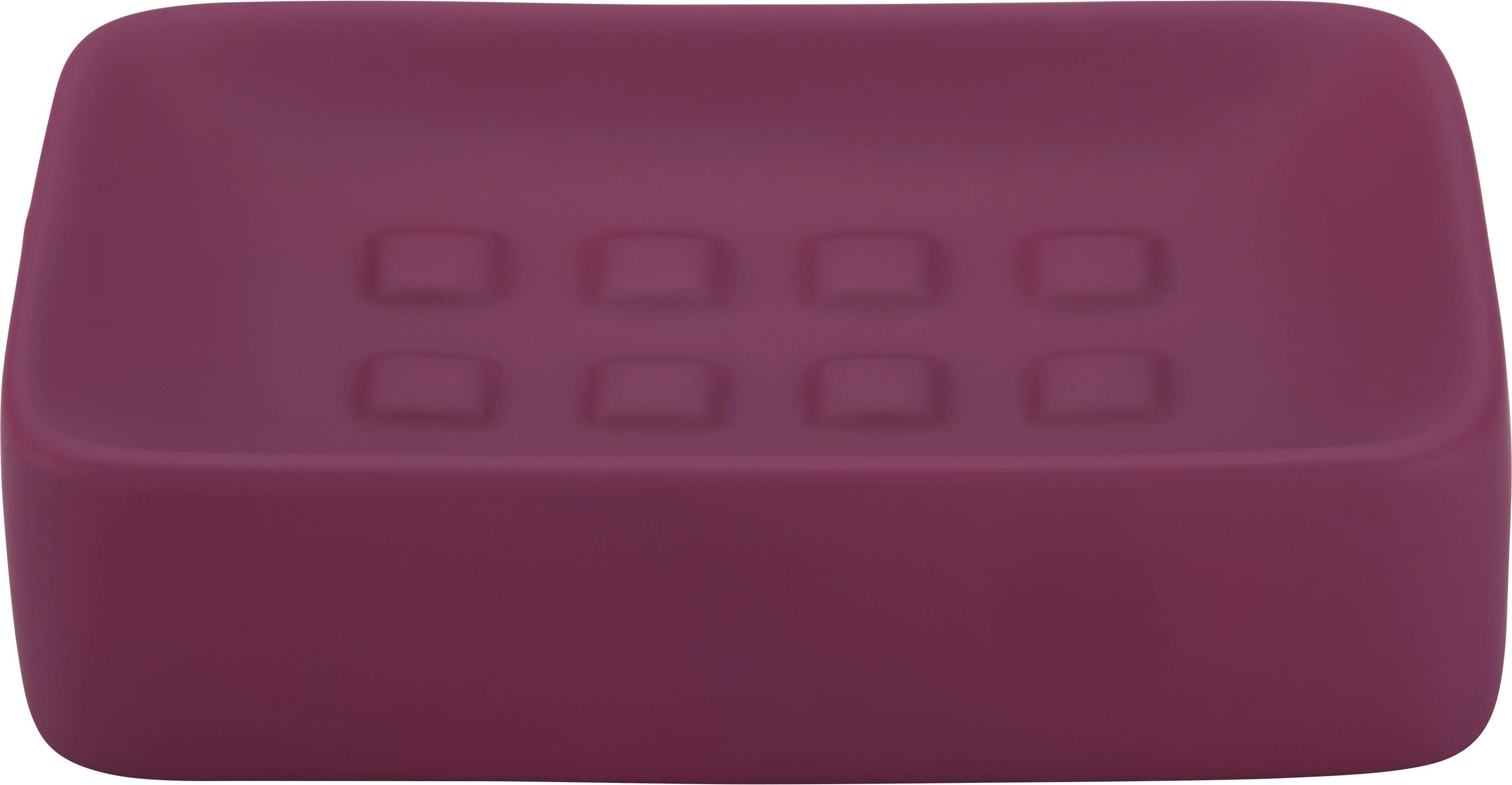 Seifenschale Melanie In Fuchsia aus Keramik - Lila, Keramik (8,3/12,5cm) - MÖMAX modern living