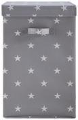 Aufbewahrungsbox Sandy mit Deckel - Weiß/Grau, MODERN, Kunststoff (30/30/50cm) - Mömax modern living