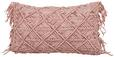 Zierkissen Pam Rosa 30x50 cm - Rosa, KONVENTIONELL, Textil (30/50cm) - Mömax modern living