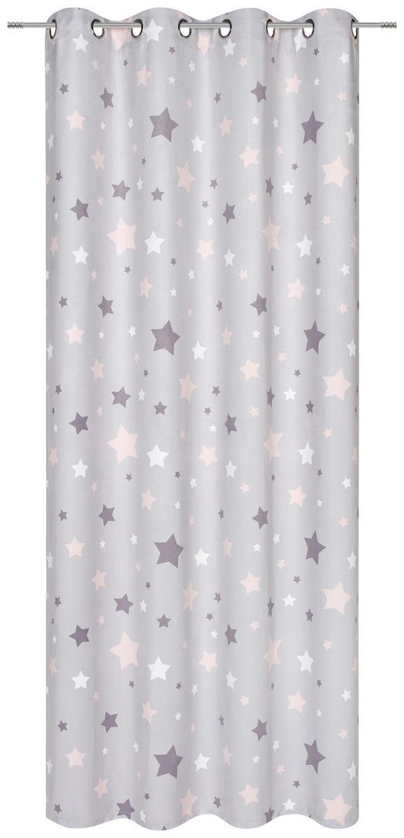 Ösenschal Scarlett, ca. 140x245cm - Rosa, ROMANTIK / LANDHAUS, Textil (140/245cm) - MÖMAX modern living