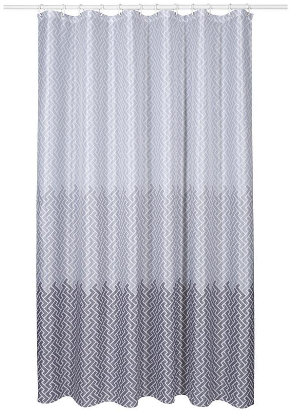 Duschvorhang Modern duschvorhang zickzack ca 180x200cm kaufen mömax