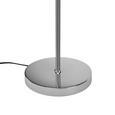 Stoječa Led-svetilka Star - krom, Romantika, kovina (23/150cm) - Premium Living