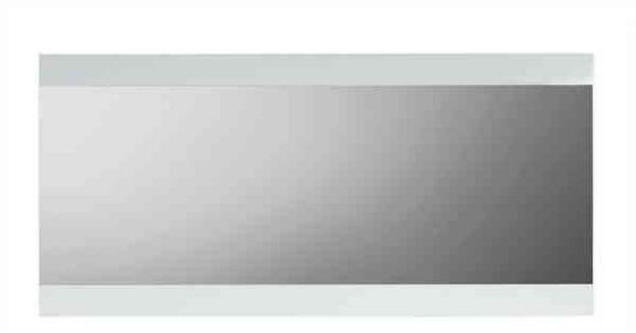 Ogledalo Space - bela, leseni material (121,4/57,6/2cm) - MÖMAX modern living