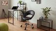 Vrtljivi Stol Phillipp - črna/krom, Moderno, kovina/umetna masa (61/79-90,5/53cm) - Mömax modern living