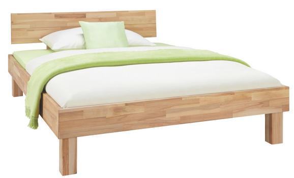 Bett Aus Massiv Holz ca. 90x200cm - Naturfarben, KONVENTIONELL, Holz (90/200cm) - Zandiara