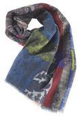 Wollpashmina Schal Shalimar 70x180 cm - Multicolor, MODERN, Textil (70/180cm) - Premium Living