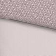 Bettwäsche Adele in Rosa ca. 135x200cm - Flieder/Rosa, ROMANTIK / LANDHAUS, Textil (135/200cm) - Mömax modern living