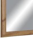 Wandspiegel Braun 45x60cm - Braun, MODERN, Glas/Holzwerkstoff (45/60cm)