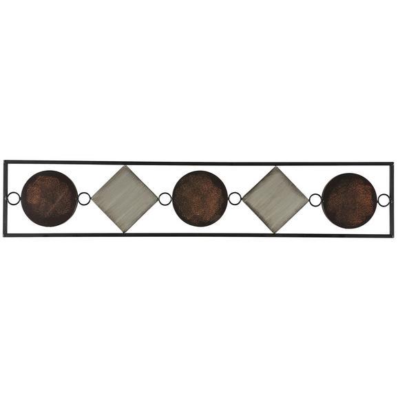 Stenska Dekoracija Waka - večbarvno, Konvencionalno, kovina (1/20/104cm) - Mömax modern living