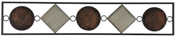 Wanddeko Waka, ca. 1x20x104cm - Multicolor, KONVENTIONELL, Metall (1/20/104cm) - MÖMAX modern living