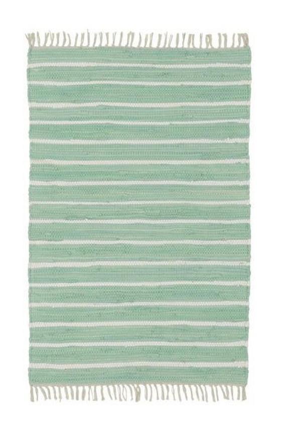Kézi Szövésű Szőnyeg Toni 1 - Zöld, modern, Textil (60/120cm) - Mömax modern living