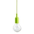 Hängeleuchte max. 60 Watt 'Abby' - Grün, MODERN, Kunststoff (9/92cm) - Bessagi Home