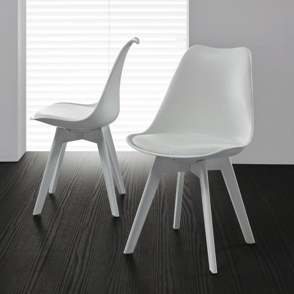 Stuhl in Weiß Vega online kaufen mömax