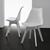 Stuhl Vega - Weiß, MODERN, Kunststoff (46/83/54cm) - Modern Living