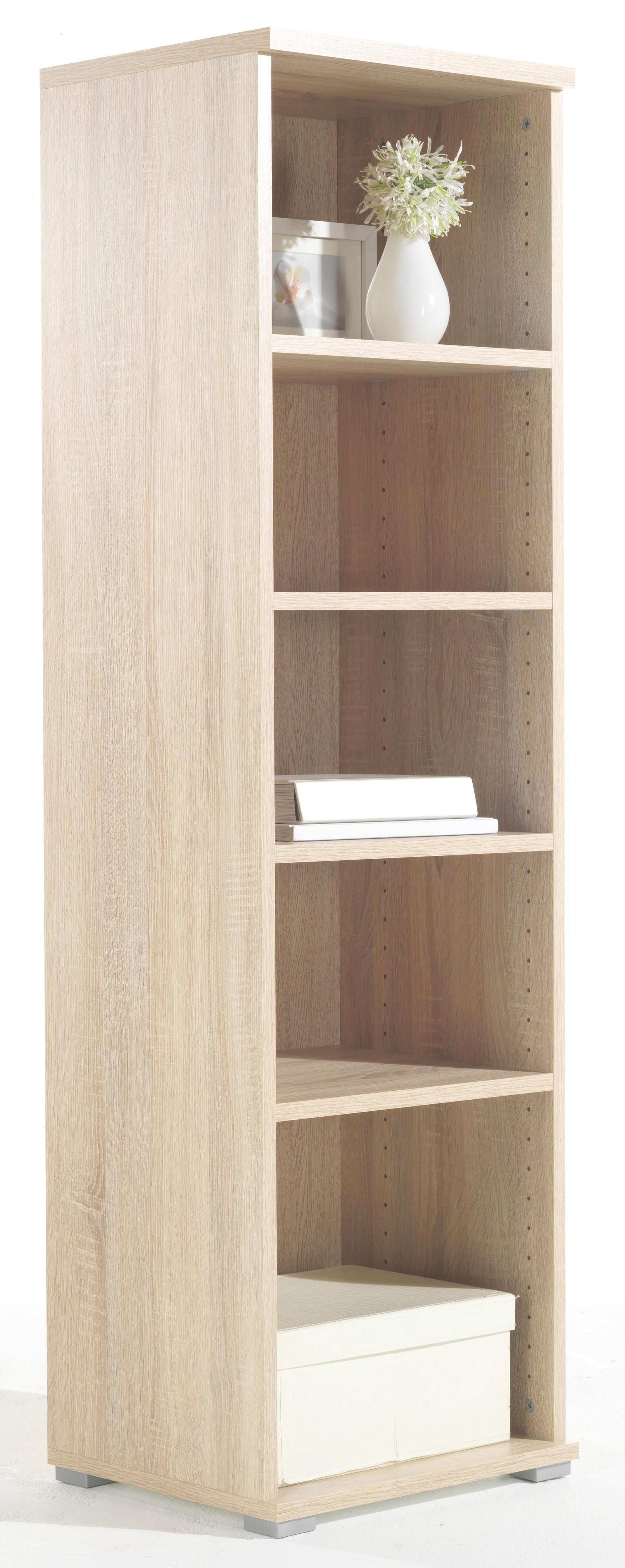 Regal in Sonoma Eiche - Eichefarben, Holzwerkstoff (44/150/37cm) - MÖMAX modern living