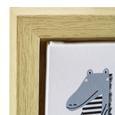 Bild Tierparade ca. 45x60x2,7 cm - Hellbraun/Multicolor, MODERN, Holzwerkstoff/Kunststoff (45/60/2,7cm) - Bessagi Home