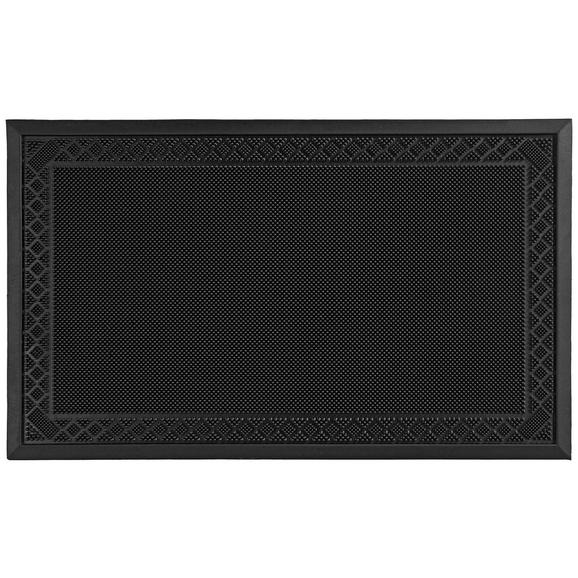 Fußmatte Linus 60x80cm - Schwarz, Kunststoff (60/80cm) - Mömax modern living
