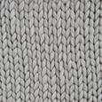 Kuscheldecke in Hellgrau ca. 130x160 cm 'Berita' - Hellgrau, Textil (130/160cm) - Bessagi Home