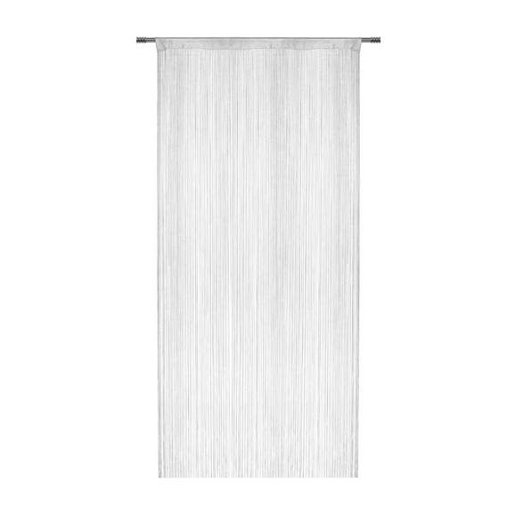 Nitasta Zavesa Franz - bela, tekstil (90/245cm) - Modern Living
