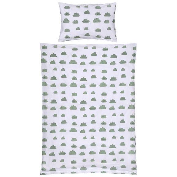 Kinderbettwäsche Leonie ca. 100x135cm - Rosa/Grün, KONVENTIONELL, Textil (100/135cm) - Mömax modern living
