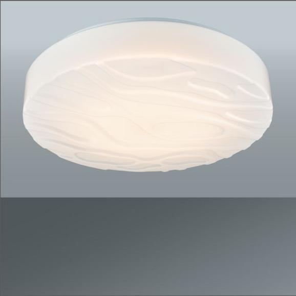 LED-Deckenleuchte Ernie in Weiß, max. 12 Watt - Weiß, KONVENTIONELL, Kunststoff/Metall (28/8cm) - MÖMAX modern living